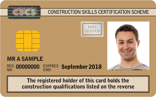 Advanced Craft/Supervisory Card (Gold)