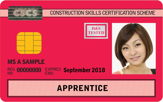 Apprentice Card (Red)