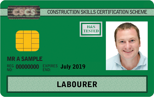 Labourer Card (Green)