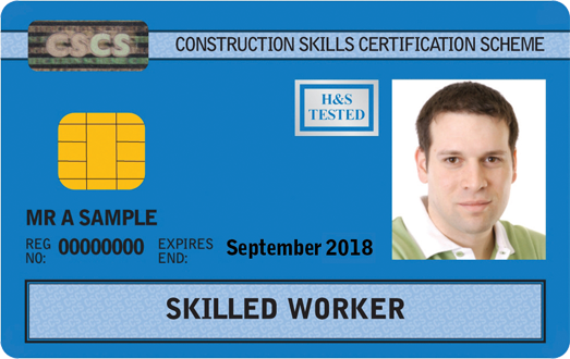 Skilled Worker Card (Blue)